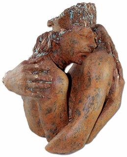 """Skulptur """"Wertschätzung"""", Kunstguss Steinoptik"""