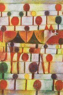 """Bild """"Kamel in rhythmischer Baumlandschaft"""" (1920)"""