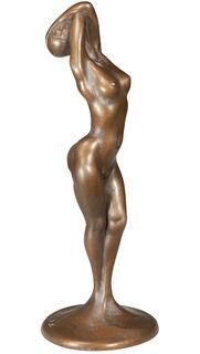 """Skulptur """"Weiblicher Akt"""", Bronze"""