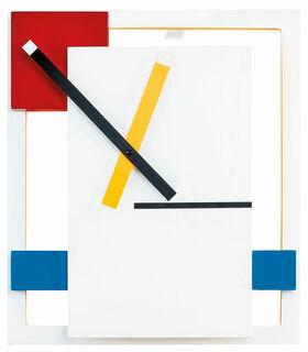 "Wanduhr ""De Stijl"" - MoMA Kollektion"