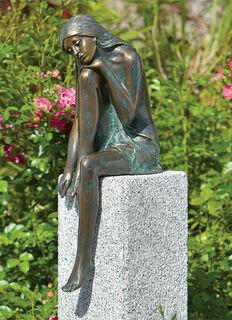 """Gartenskulptur """"Emanuelle"""" (Version ohne Stele)"""