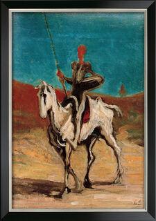 """Bild """"Don Quichotte"""" (1868/70), gerahmt"""