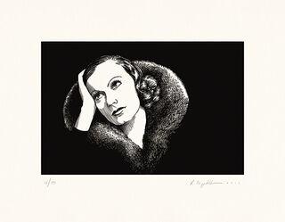 """Bild """"Garbo"""", ungerahmt"""