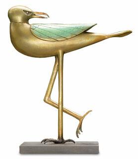 "Skulptur ""Möwe"", Bronze"