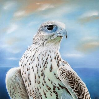 """Bild """"Der Falke"""", auf Keilrahmen"""