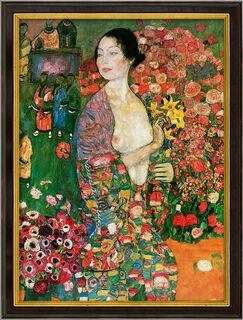 """Bild """"Die Tänzerin"""" (1916-18), gerahmt"""