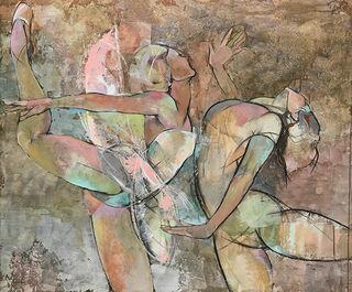 """Bild """"Der Tanz"""", auf Keilrahmen"""