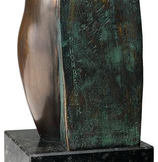 "Skulptur ""Weiblicher Torso"", Bronze"