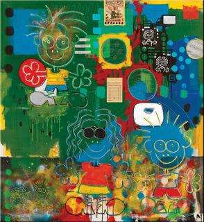"""Bild """"Redhanded"""" (2003), auf Keilrahmen"""