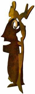 """Skulptur """"Mutter mit Kind"""" (2011)"""
