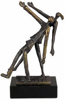 """Skulptur """"Gemeinsam neue Wege beschreiten"""""""