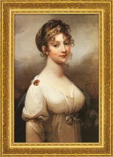 """Bild """"Luise, Königin von Preußen"""" (1802), gerahmt"""