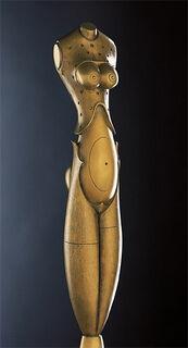 """Skulptur """"Eva mit der Schlange"""", Bronze"""