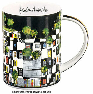 "Magic Mug ""KunstHausWien"", Porzellan"