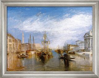 "Bild ""Canal Grande"" (1835), gerahmt"