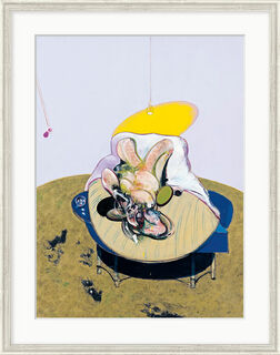 "Bild ""Lying Figure"" (1969), gerahmt"