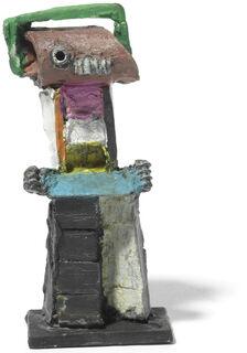 """Skulptur """"Zyklop"""" (2016), Bronze"""