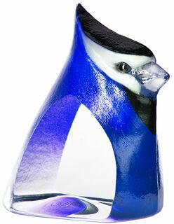 """Glasobjekt """"Birdie"""", blaue Version"""