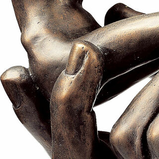 "Skulptur ""Die Hand Gottes"" (1917), Version in Kunstbronze"