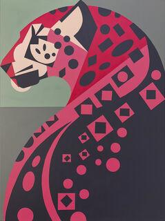 "Bild ""Jaguar"" (2018) (Unikat)"