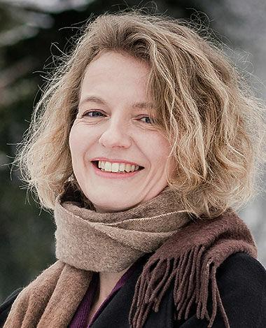 Porträt der Künstlerin Kathrin May