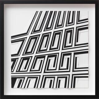 """Bild """"Sonnenstrahlen schwarz/weiß"""" (2020) (Unikat)"""