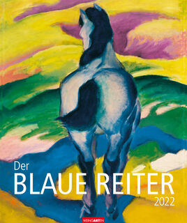 """Künstlerkalender """"Blauer Reiter"""" 2022"""