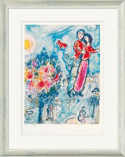 """Bild """"Entre L'Hiver et le Printemps"""" (1974), gerahmt"""