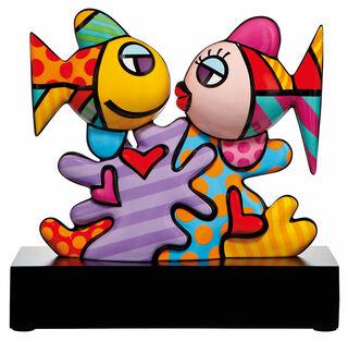 "Porzellanskulptur ""Ocean Love 31"""