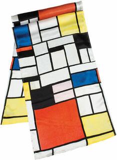 "Seidenschal ""Mondrian"""