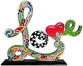 """Schriftzug-Skulptur """"Love"""""""