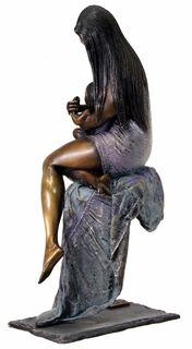 """Skulptur """"Mother's Love"""", Bronze"""