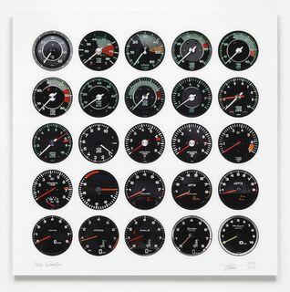 """Bild """"Porsche Tachometer"""" (2018)"""