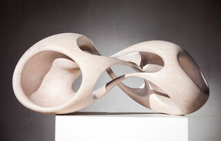 "Skulptur ""Atmung 4"" (2015) (Original / Unikat), Holz"