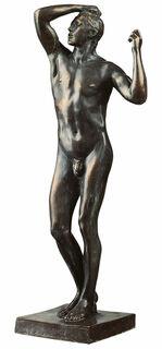 """Skulptur """"Das eherne Zeitalter"""" (1876), große Version in Kunstbronze"""