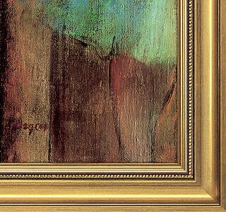 """Bild """"Tänzerinnen (Rosa und Grün)"""" (ca. 1890), gerahmt"""