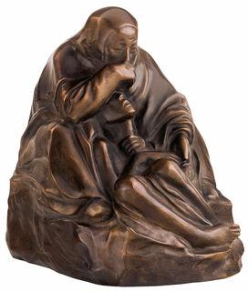 """Skulptur """"Pietà"""" (1938/39), Reduktion in Bronze"""