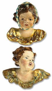Jubilierender Engel und Zahnweh-Engelchen