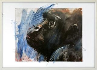 "Bild ""Gorilla 5"" (2012) (Unikat)"