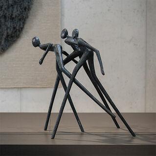 """Skulptur """"Run Away"""", Bronze"""