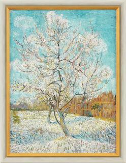 """Bild """"Der rosa Pfirsichbaum"""" (1888), gerahmt"""