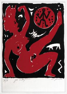 """Bild """"Für Bitterfeld"""" (1990)"""