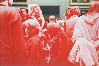 """Bild """"La Gioconda"""" (2006), auf Keilrahmen"""