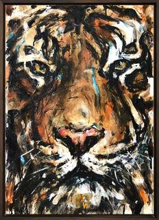 "Bild ""Tiger_14"" (2021) (Unikat)"