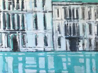 """Bild """"Venedig I"""" (2020) (Original / Unikat), auf Keilrahmen"""