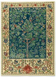 "Wandteppich ""Tree of Life"" (klein, 67 x 105 cm) - nach Wiliam Morris"