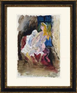 """Bild """"Studie II. Ungleiches Liebespaar"""" (1925) (Unikat)"""