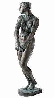 """Skulptur """"Junges Weib"""" (1903/04), Reduktion in Bronze"""