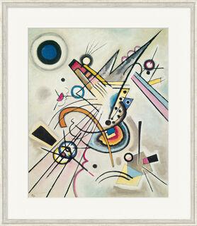 "Bild ""Diagonale"" (1923), gerahmt"
