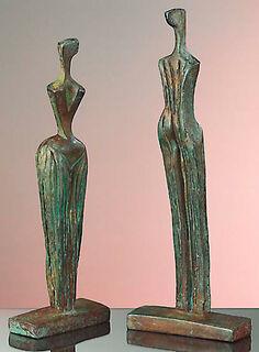"""Skulpturengruppe """"La Familia"""", Version in Kunstbronze"""